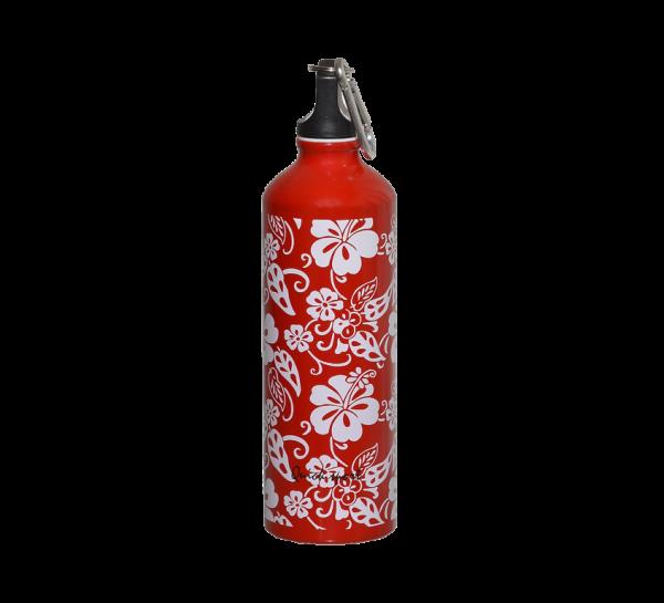 Alu fľaša White flowers 750 ml