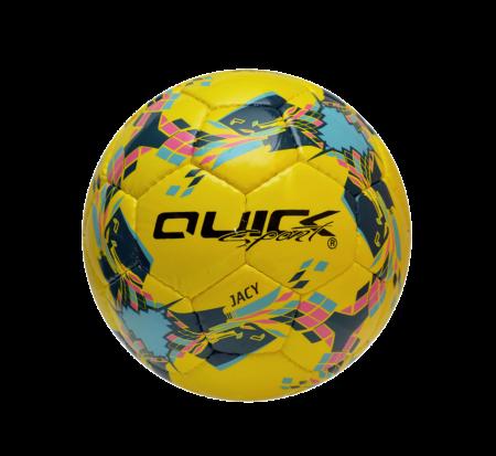 Futbalová lopta Jacy neonovo žltá